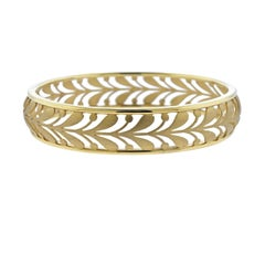 Tiffany & Co. Paloma Picasso Gold Villa Paloma Palm Bracelet