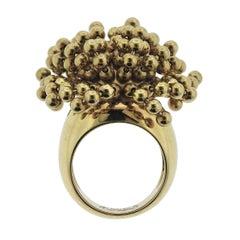Cartier Nouvelle Vague Gold Charm Ring