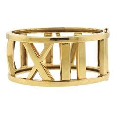 Tiffany & Co. Atlas Wide Gold Bracelet