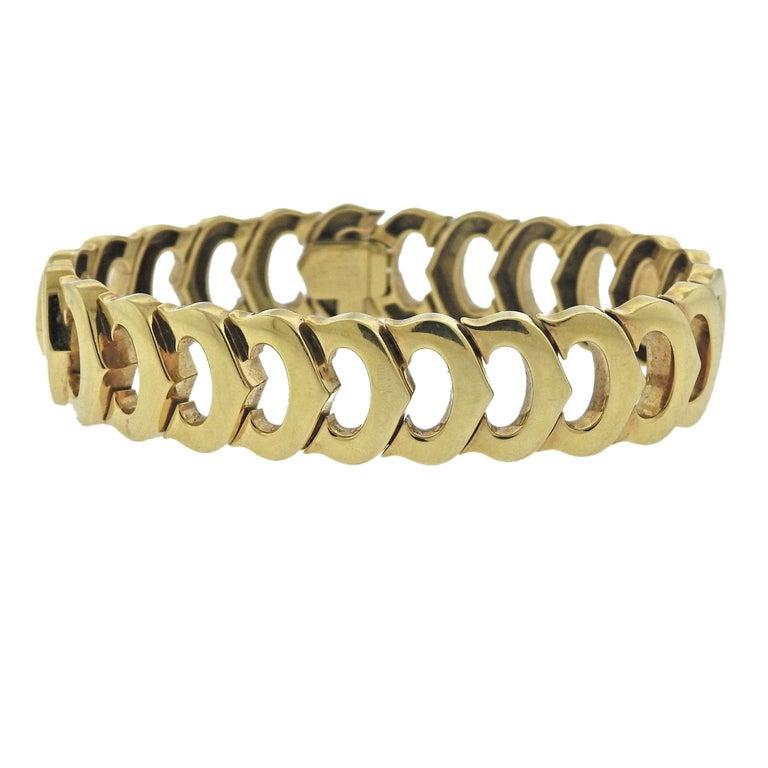 Cartier Gold Link C de Cartier Bracelet