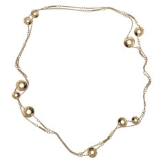 Chopard Choppardissimo Gold Long Station Necklace