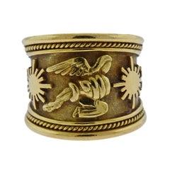Elizabeth Gage Gold Band Ring