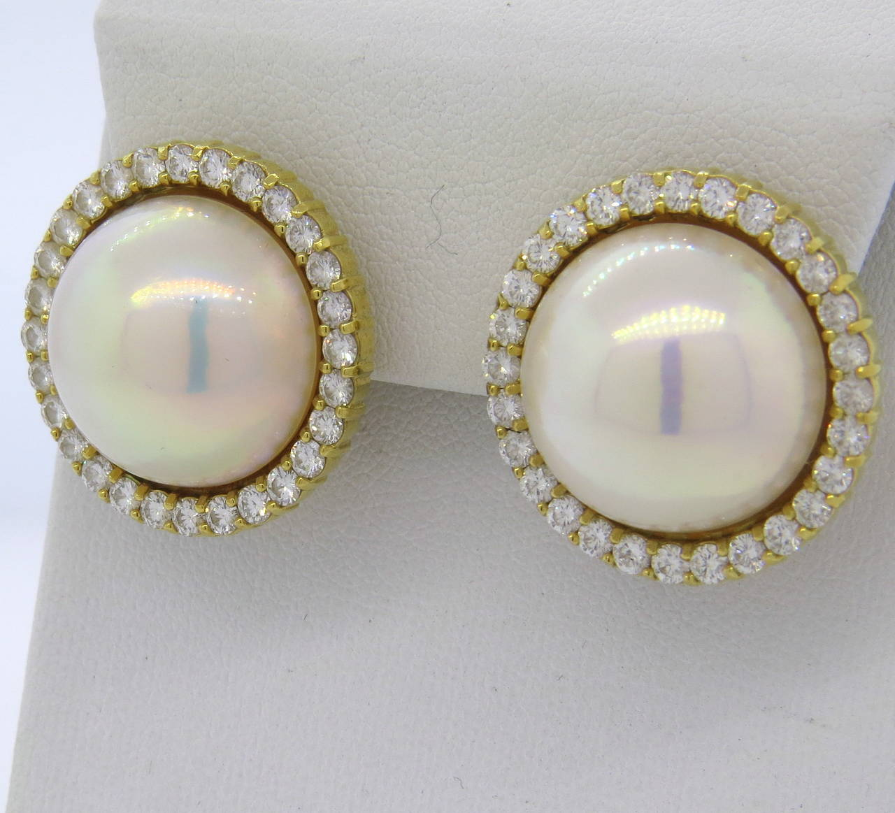 Find great deals on eBay for large pearl earrings. Shop with confidence.