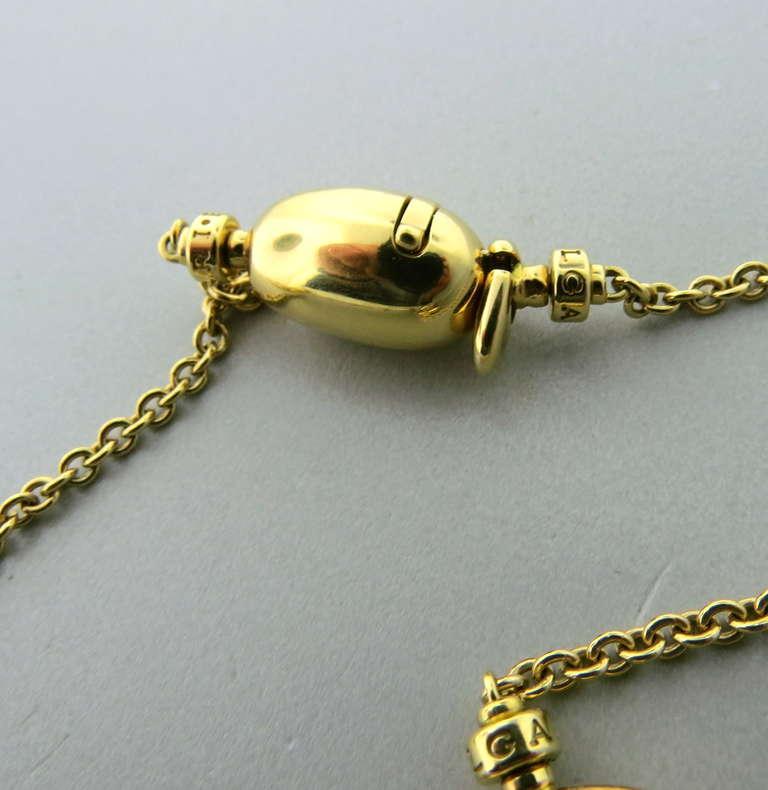 bulgari ancient coin gold long sautoir necklace 3