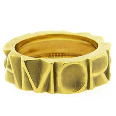 Pasquale Bruni Amore Gold Band Ring