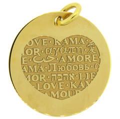 Pasquale Bruni Amore Love Gold Charm Pendant