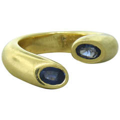 Cartier Gold Iolite Ring