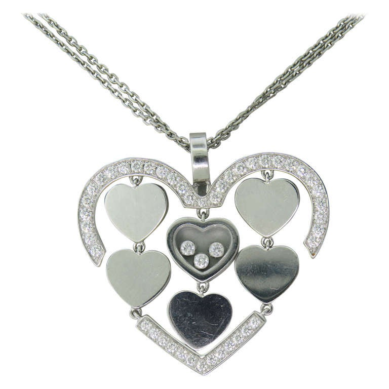Chopard happy amore gold floating diamond heart pendant necklace for chopard happy amore gold floating diamond heart pendant necklace for sale aloadofball Gallery