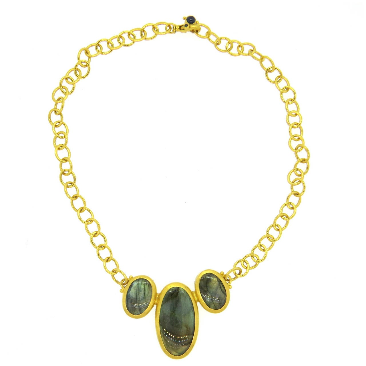 guhran jewelry gurhan gold labradorite and sapphire pendant necklace at 2855