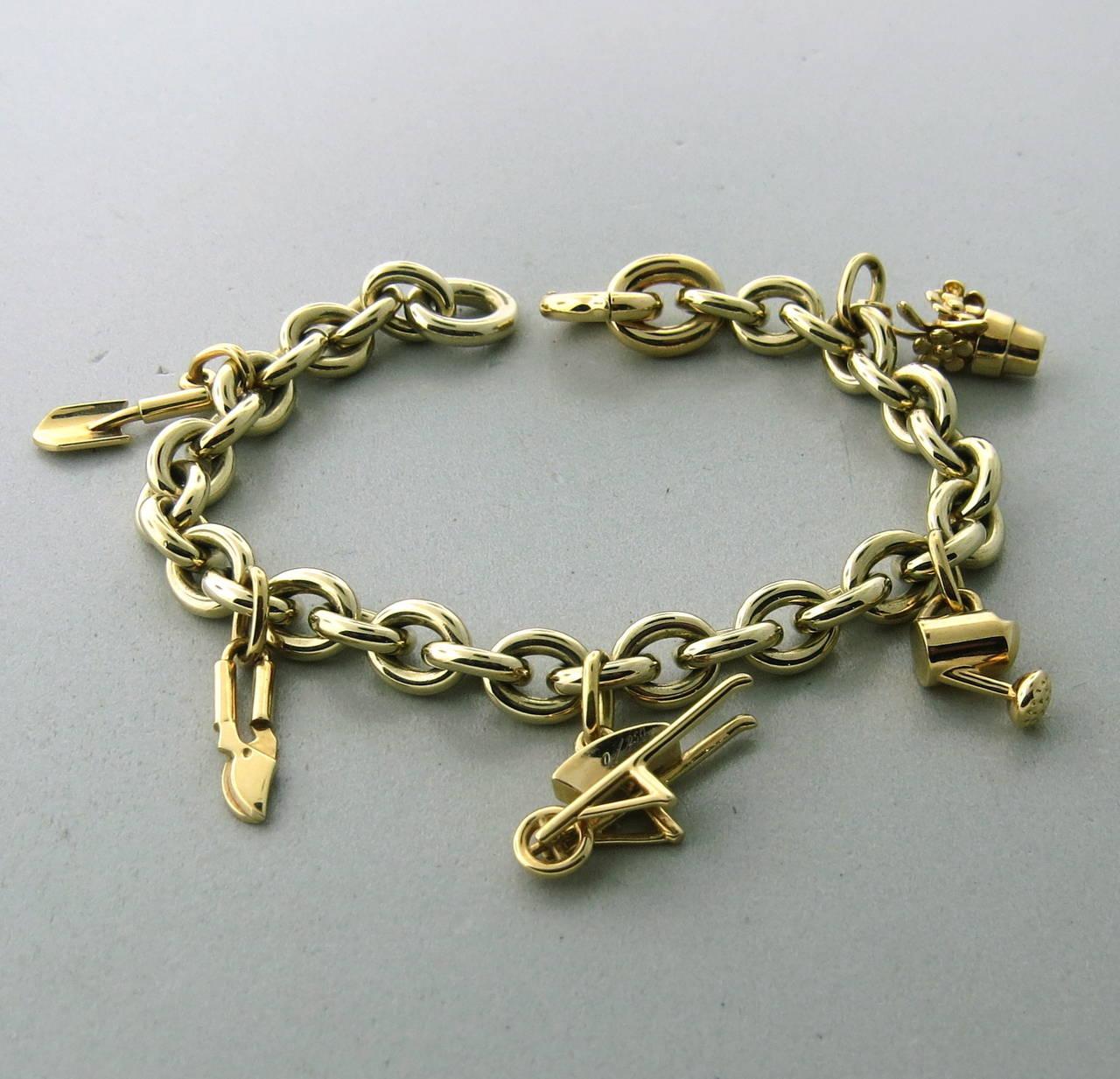 Garden Charm Bracelet Charm Bracelet Image 2