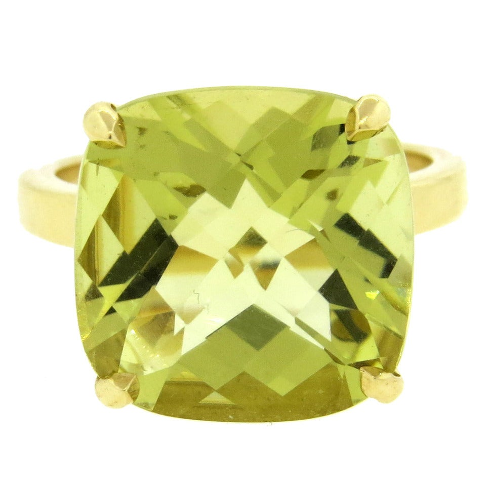 a9b2c4b21 Tiffany and Co. Sparklers Yellow Citrine Gold Ring at 1stdibs