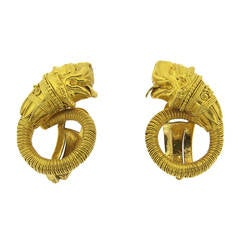 Zolotas Gold Chimera Earrings