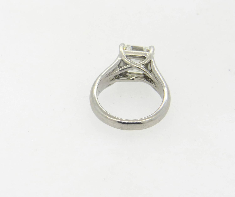 Tiffany and Co Lucida Platinum 3 02 Carat Diamond Engagement Ring at 1stdibs