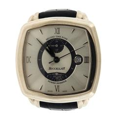 Buccellati Apollochron Gold Dual Time Zone Automatic Power Reserve Watch