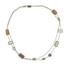 Ippolita Rock Candy Marrakesh Multi Gemstone Gold Necklace