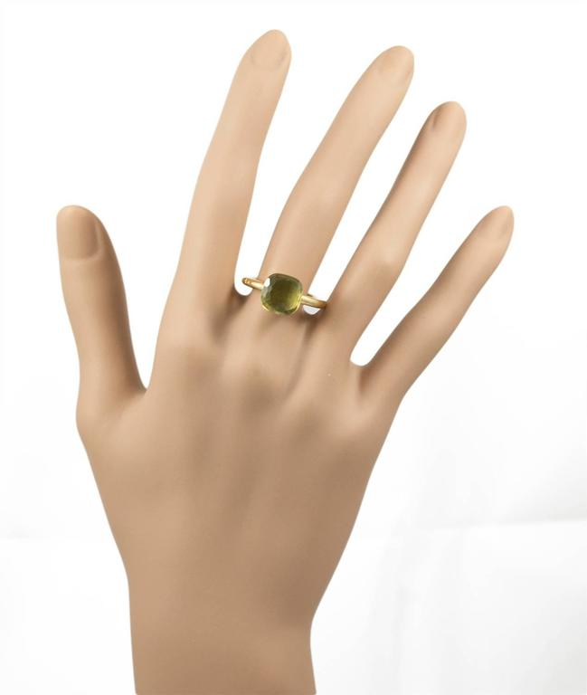 Pomellato Lemon Quartz Gold Ring at 1stdibs