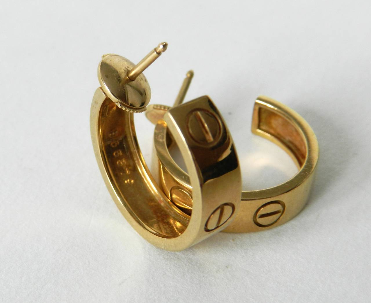 cartier love collection earrings