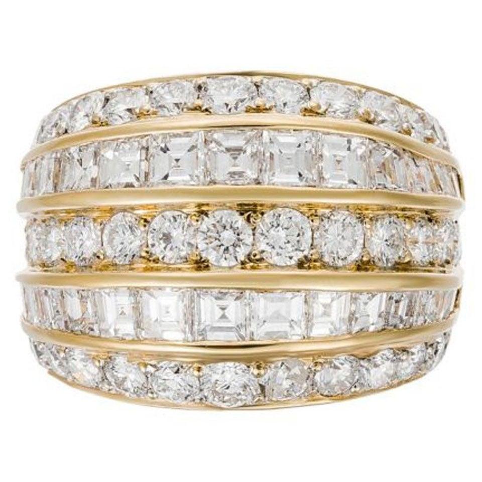Important Diamond Gold Fashion Ring