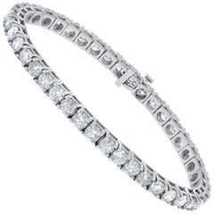 8.00 Carat Diamond Tennis Bracelet, Each Stone 0.20 Carat
