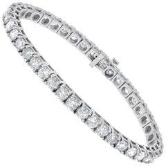 10.00 Carat Diamond Tennis Bracelet, Each Stone 0.25 Carat