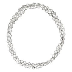 39.00 Carat Diamond by the Yard Necklace