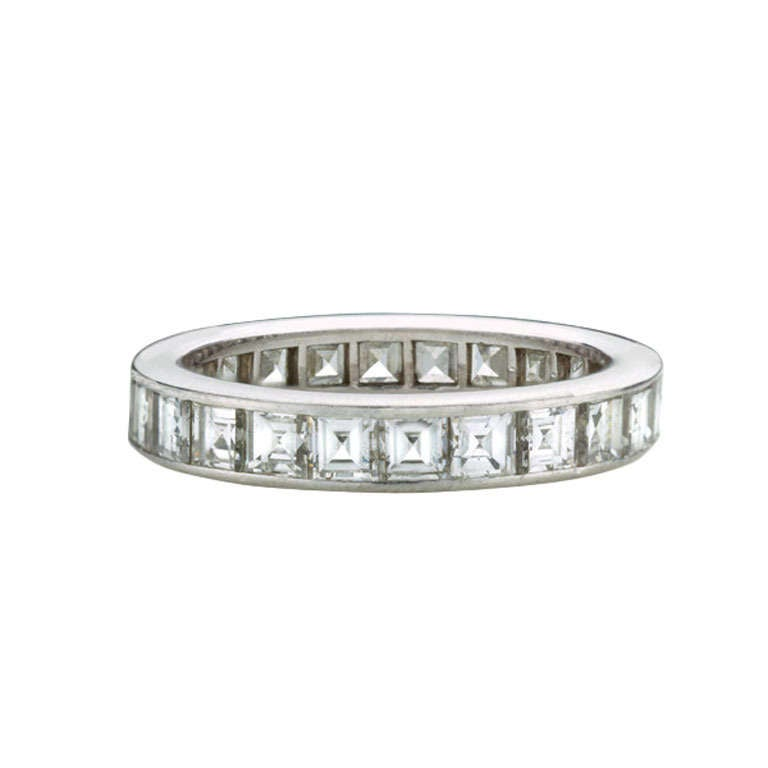 rings channelset bands thumbnail eternity band custom set ring channel diamond made