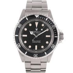 """Rolex Stainless Steel """"Meters First"""" Submariner Wristwatch Ref 5513"""