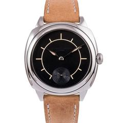Laurent Ferrier Stainless Steel Galet Square Boreal Wristwatch