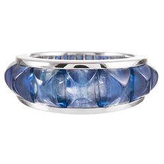 8.68 Carat Sapphire Ring, Signed Seaman Schepps