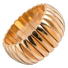 Midcentury Italian Gold Bracelet