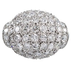 2.25 Carat Diamond Dome Ring