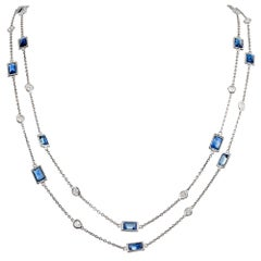 Diamond and Sapphire Chain