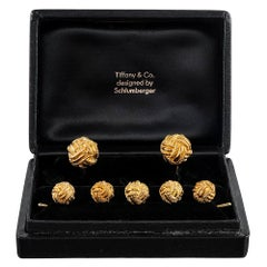 Schlumberger for Tiffany & Co. Cufflink and Stud Set