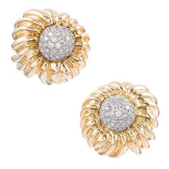 Tiffany & Co. Diamond Earclips