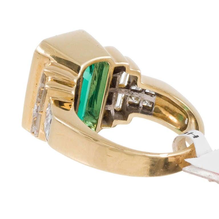 7 00 carat emerald and ring at 1stdibs