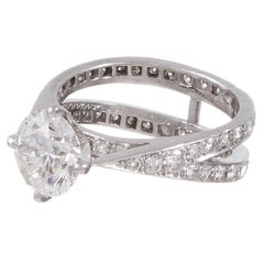 Tiffany & Co. 1.79 Carat Diamond Platinum Engagement Ring