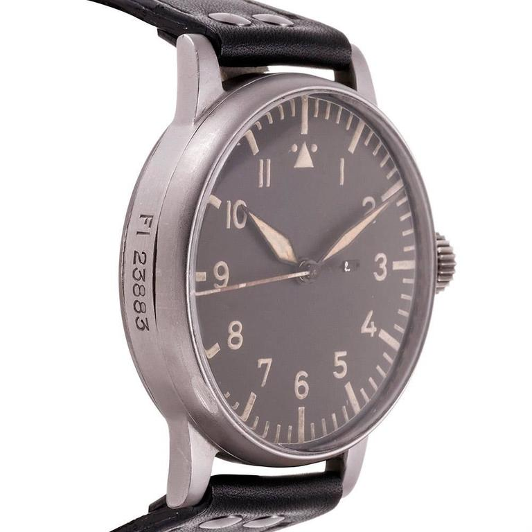 A Lange And S 246 Hne World War Ii Pilot S Wristwatch At 1stdibs