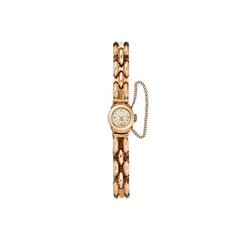 Olma Lady S Rose Gold Bracelet Watch
