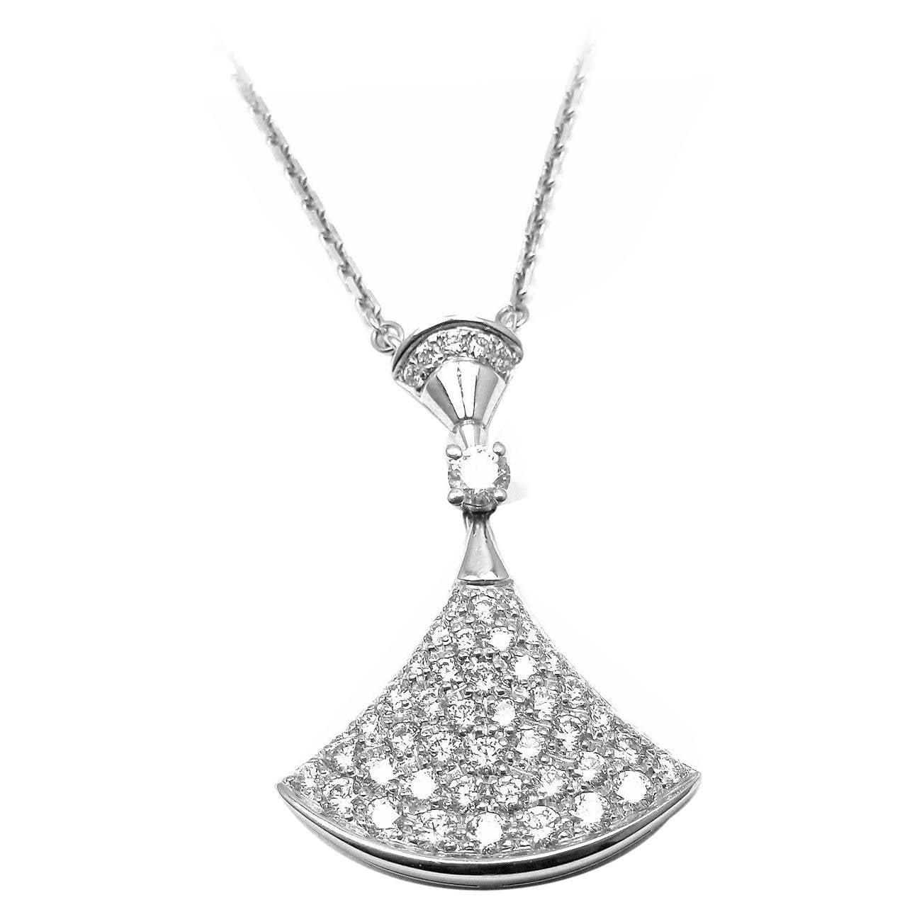 White Gold Diamond Pendant Price