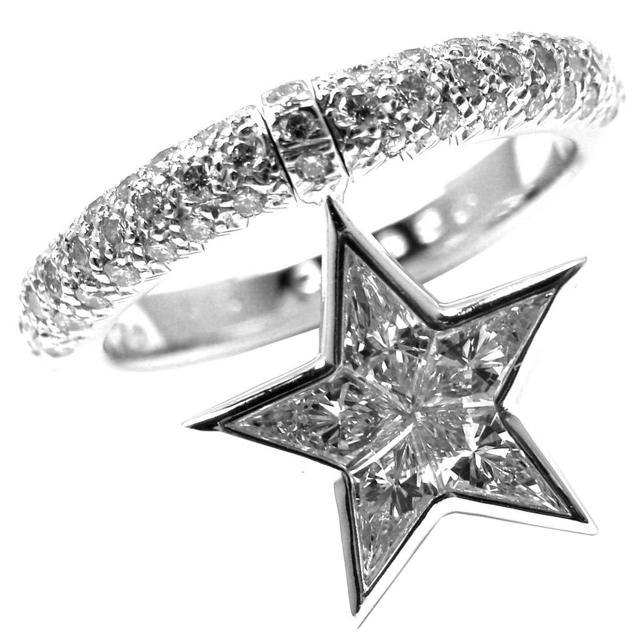 zircon deep blue sea mysterious silver woman gift sterling adjustable jewel simple open star rings products
