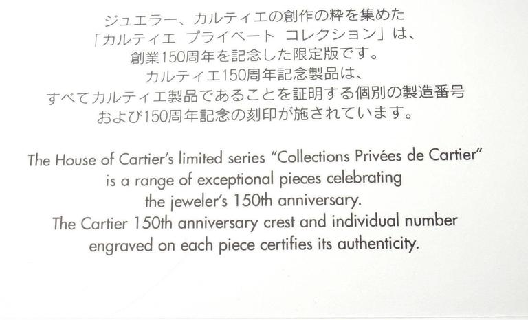 Cartier Love Diamond Gold 150th Anniversary Limited Edition Hoop Earrings 3
