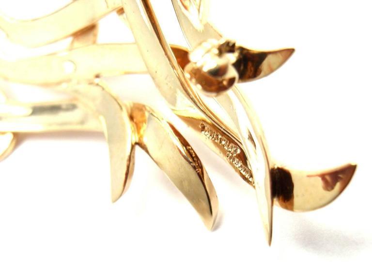 Tiffany & Co. Diamond Gold Platinum Pin Brooch For Sale 2