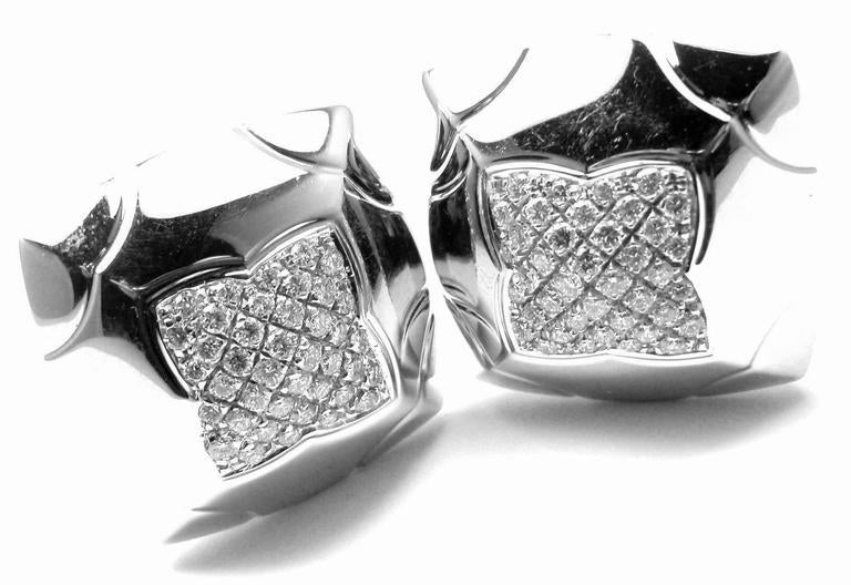Bulgari Piramide Large Diamond Gold Earrings 5