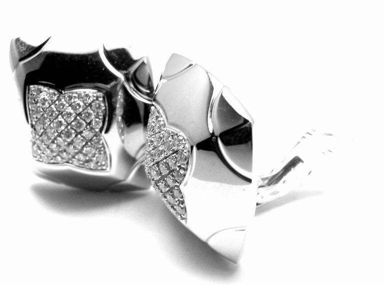 Bulgari Piramide Large Diamond Gold Earrings 6