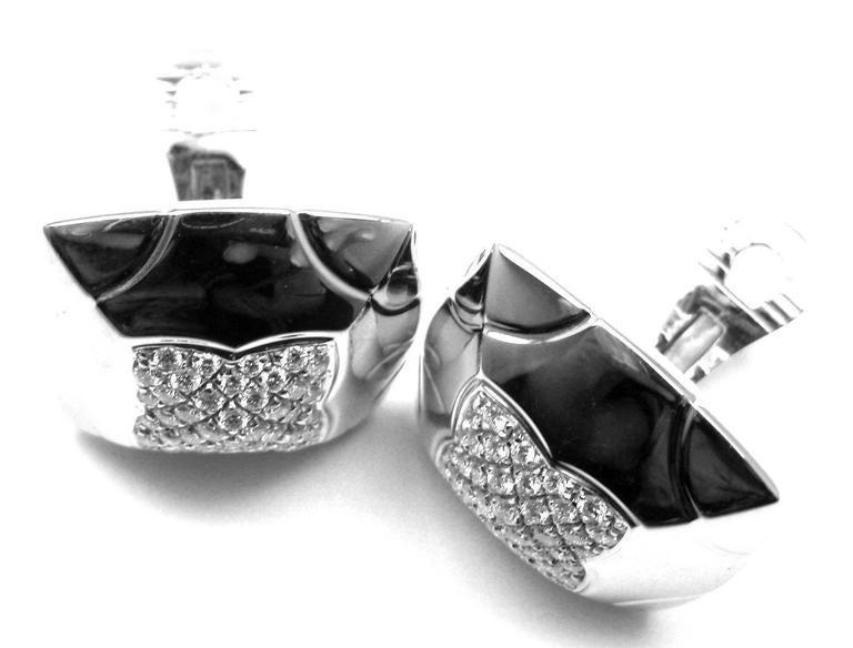 Bulgari Piramide Large Diamond Gold Earrings 9