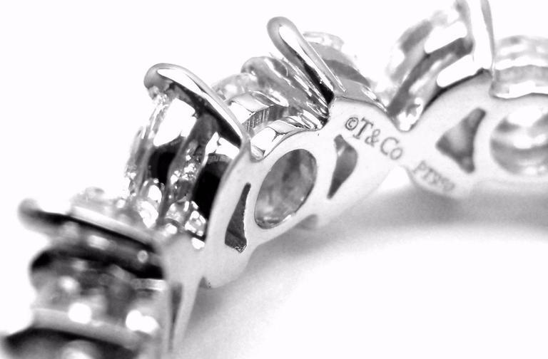Tiffany And Co Diamond Platinum Victoria Eternity Band
