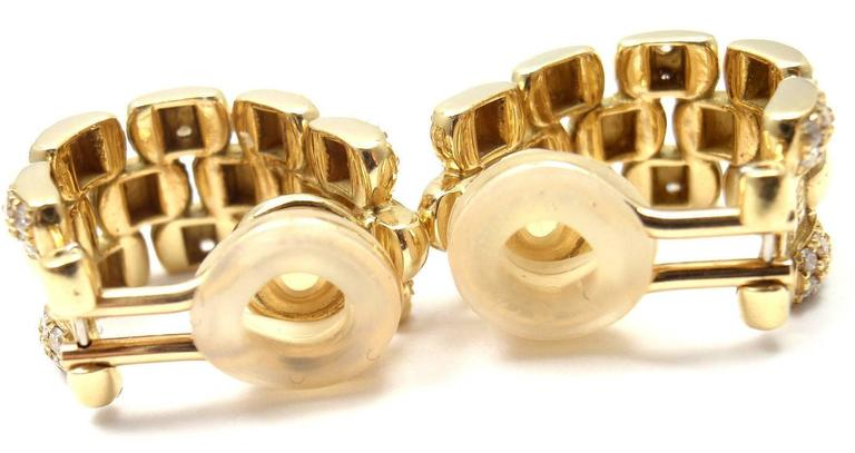 Chopard Diamond Gold Hoop Earrings 5