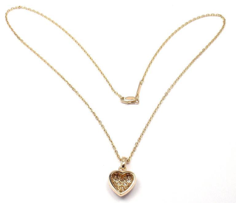 yellow diamond heart necklace - photo #24
