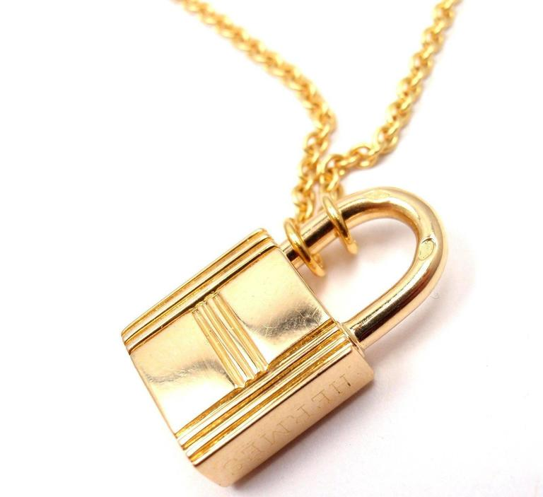 silver gold love lock key over heart diamond pendant