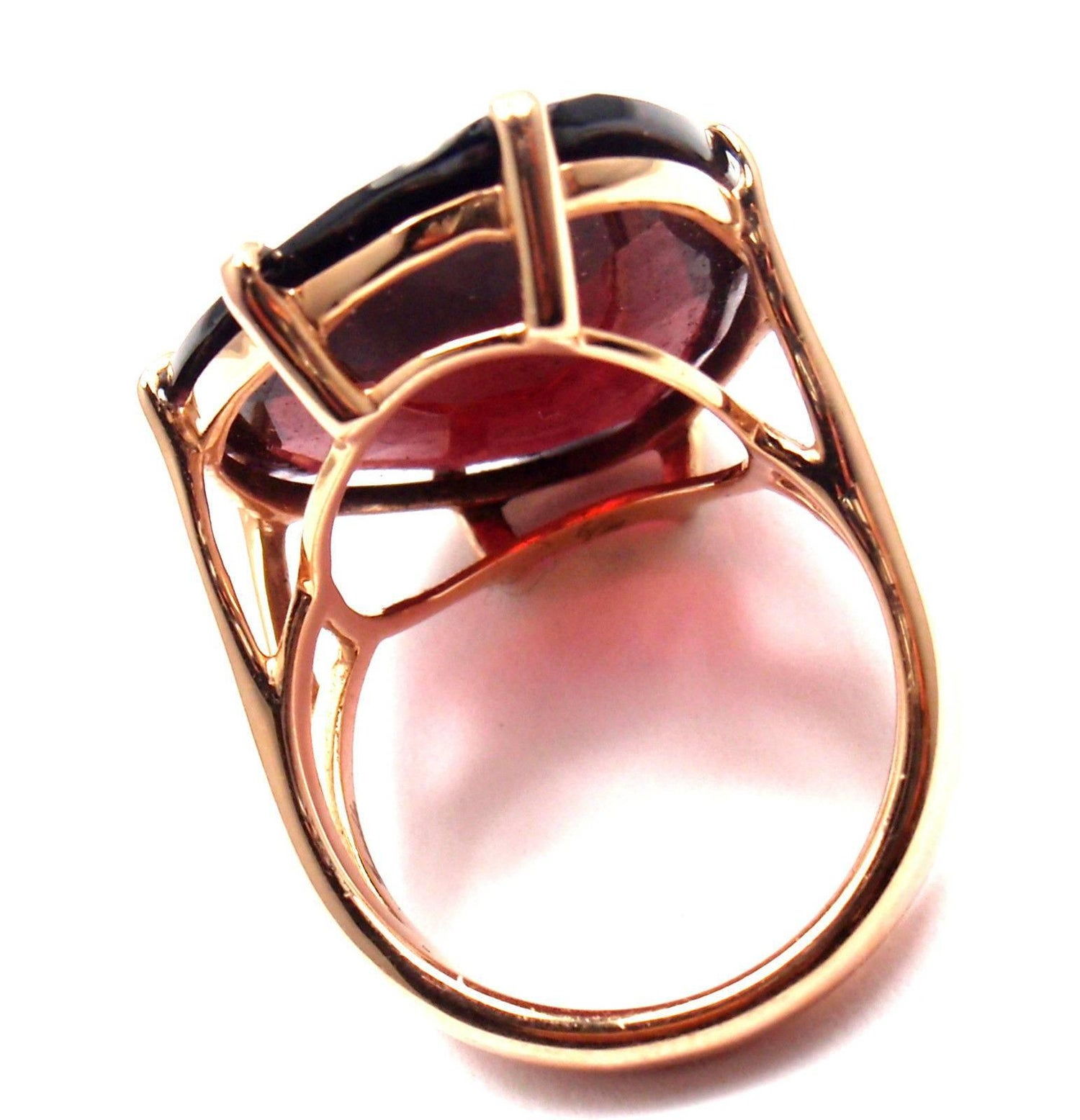 Annoushka Large Garnet Rose Gold Ring at 1stdibs